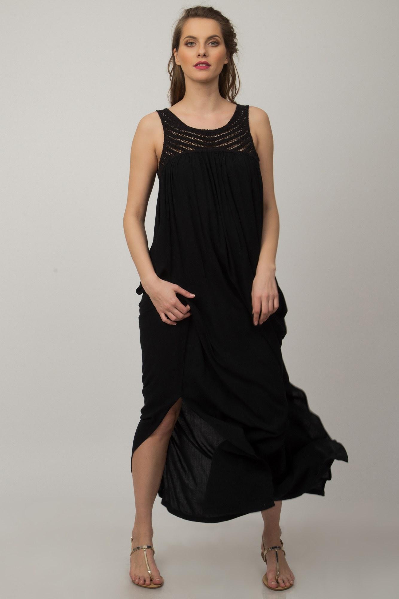 Rochie Vera neagra lunga
