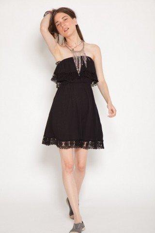 Rochie neagra scurta top