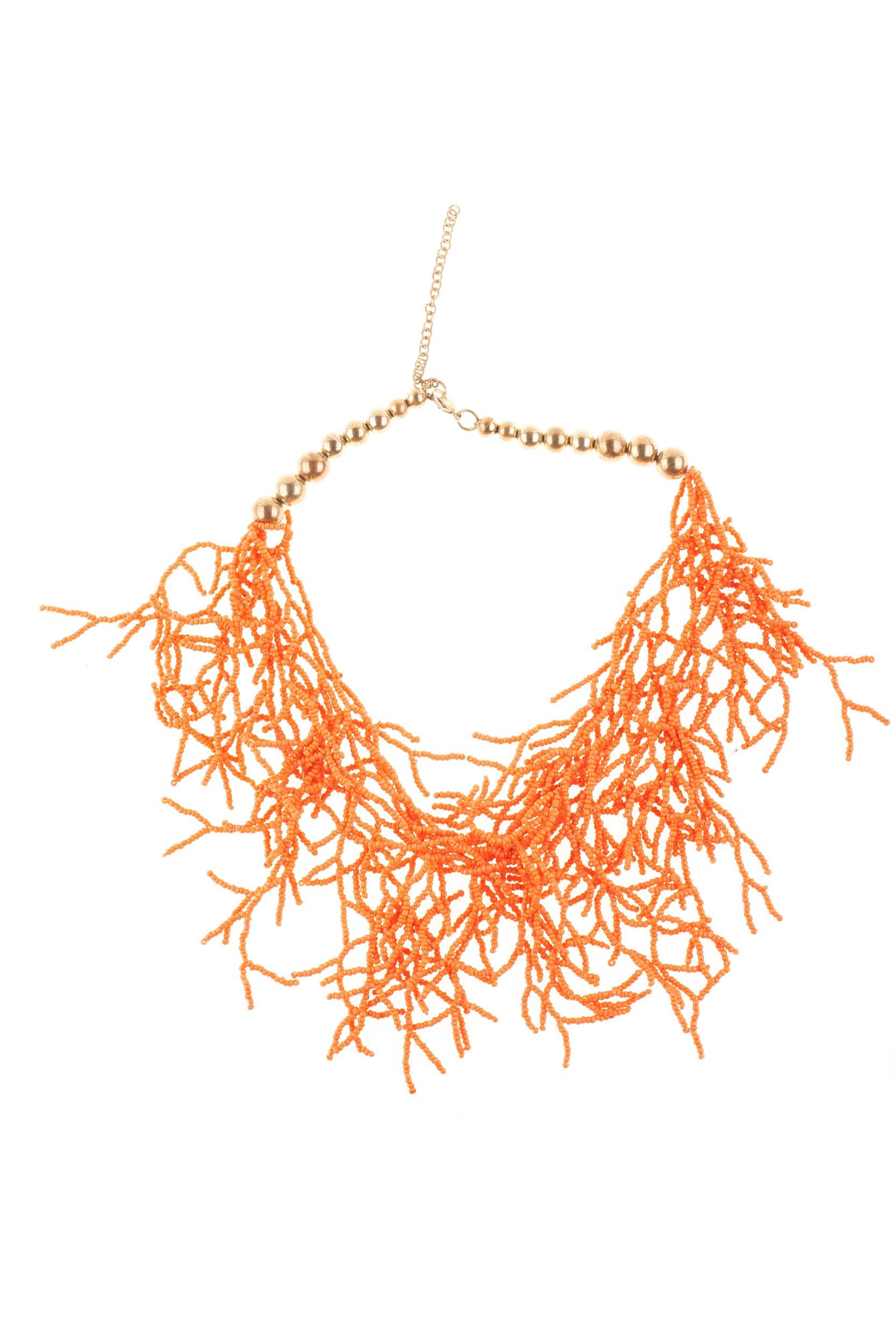 Colier Kira portocaliu