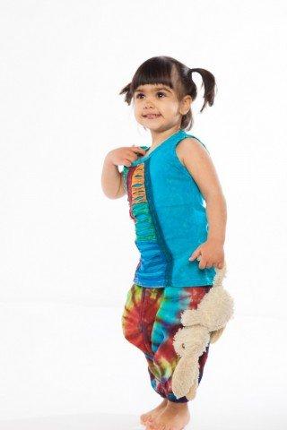 Tunica bleu bumbac pentru copii