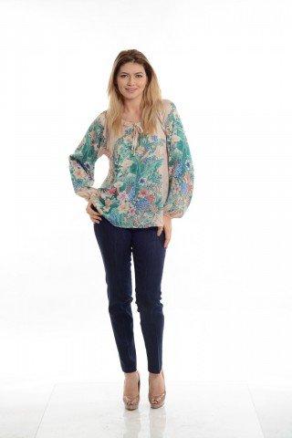 Bluza Eranthe cu imprimeu floral