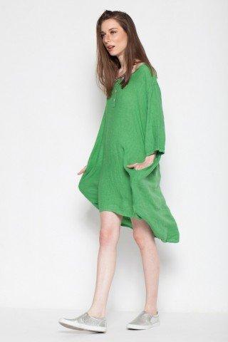 Tunica verde din in