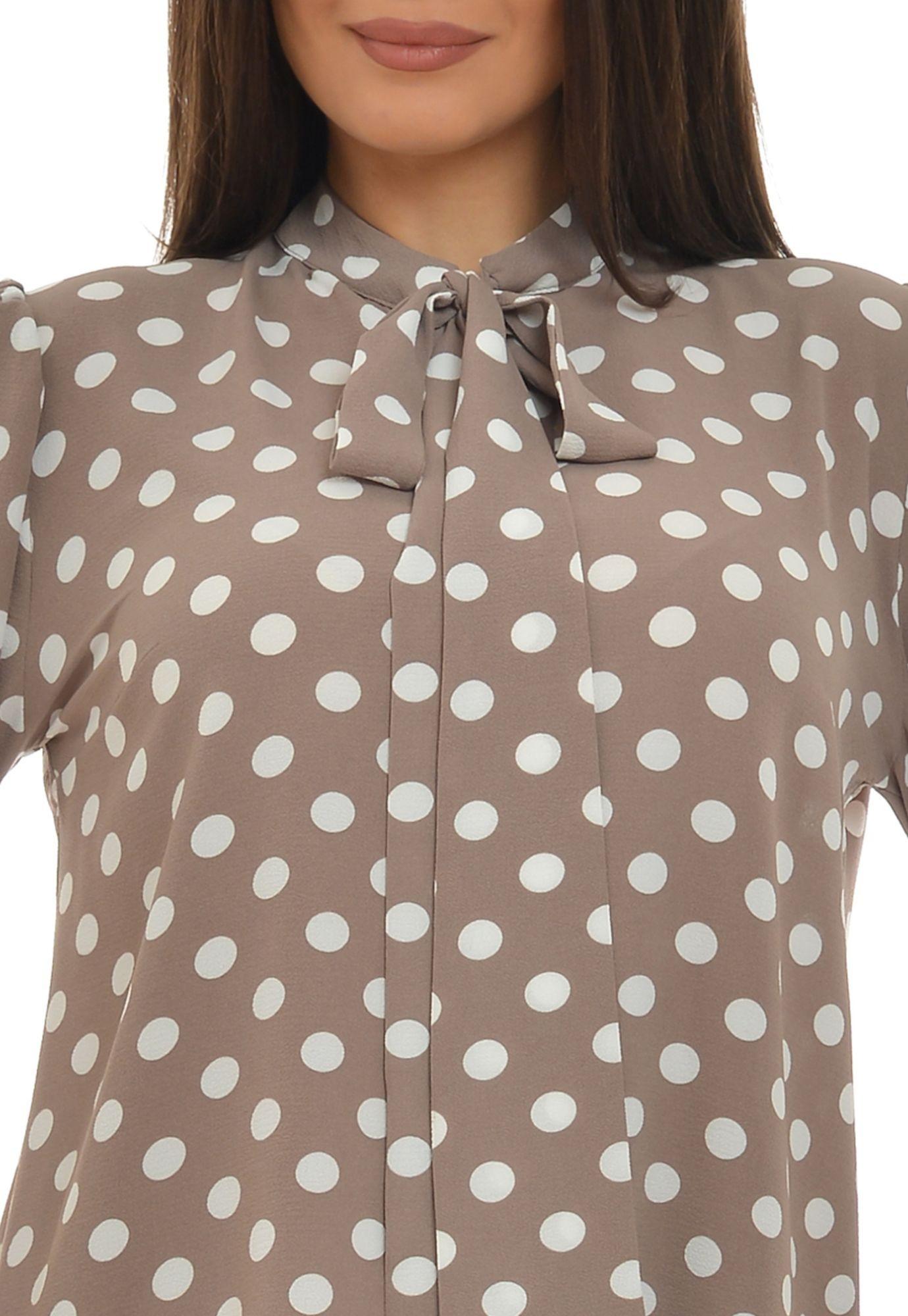 Bluza cu buline si funda