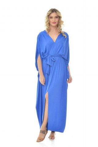 Rochie albastra Natalee lunga