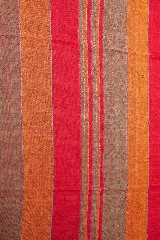 Cuvertura single rosu-porocaliu in dungi