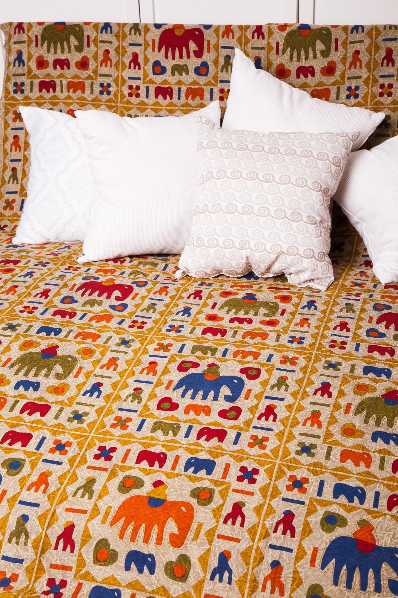Cuvertura Arhi cu elefanti-single