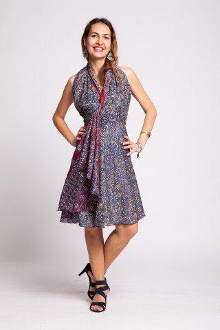 Rochie albastru inchis