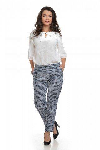 Pantaloni clasici in carouri Eranthe