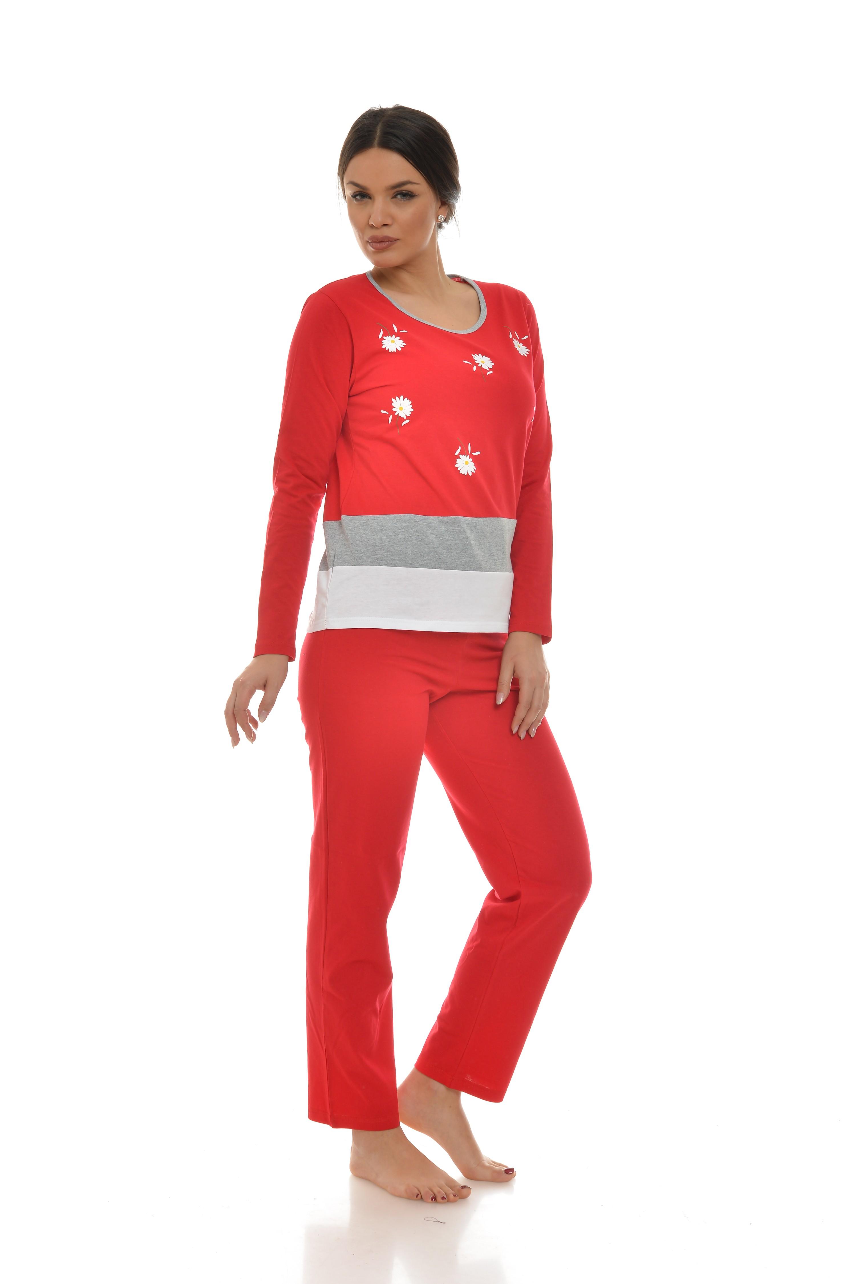 Pijama alb-rosu cu imprimeu toy of summer