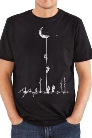 Tricou fly me to the moon