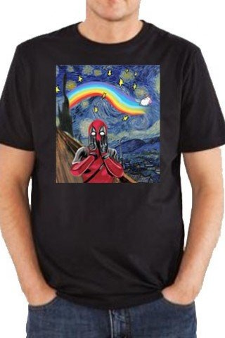 Tricou deadpool