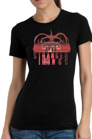 Tricou Stranger things logo