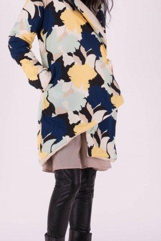 Jacheta cu doua fete asimetrica