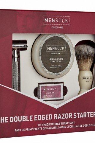 Set cadou barbierit Menrock Sandalwood