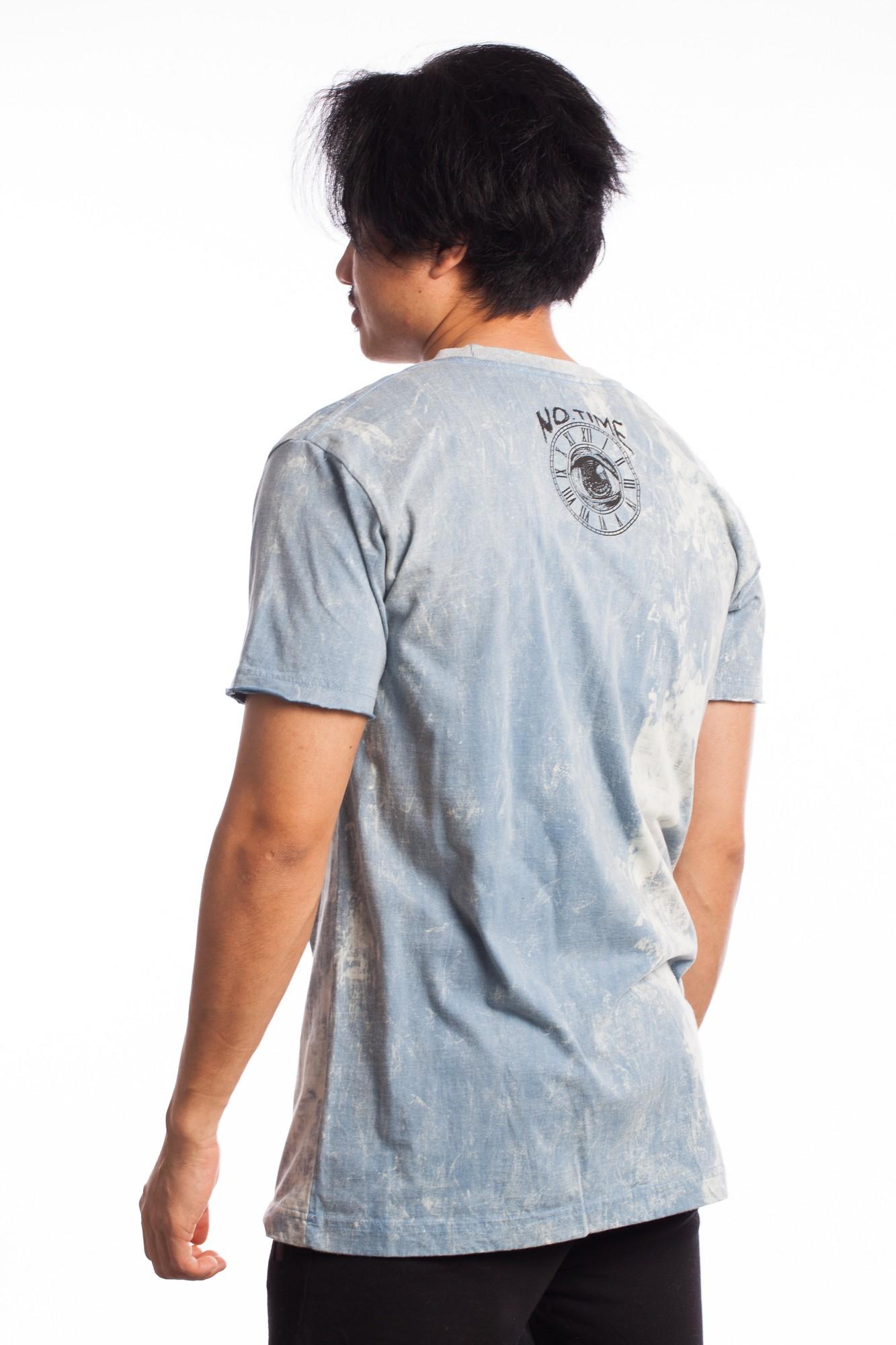 Tricou bleu Masca Africana