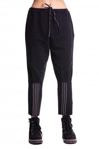 Pantaloni negri Patch