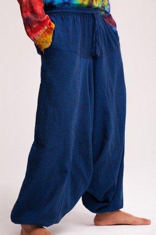 Salvari unisex din bumbac albastru