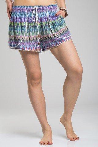 Pantaloni scurti tip fusta
