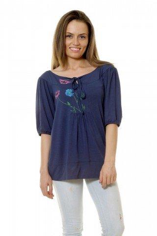 Bluza platca pictata manual Eranthe