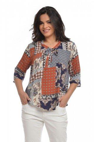 Camasa patchwork Eranthe
