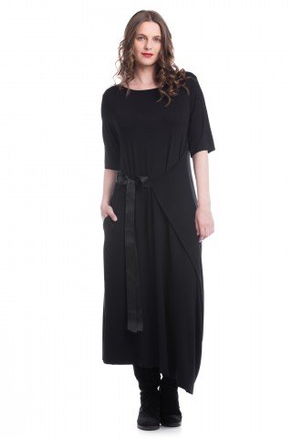 Rochie asimetrica Black Magic