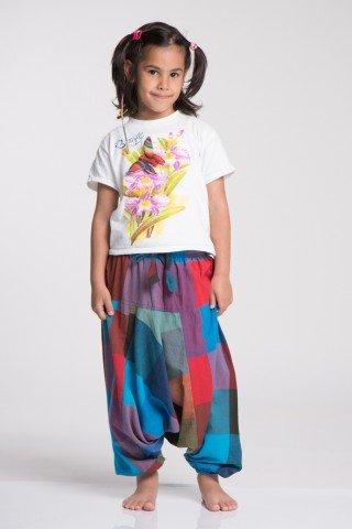 Salvari copii carouri multicolore