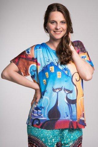 Bluza multicolora Aristocats