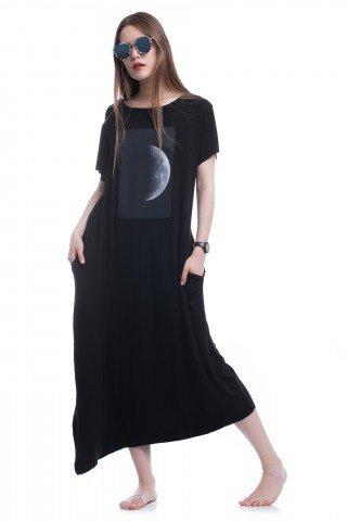 Rochie asimetrica Give me the moon
