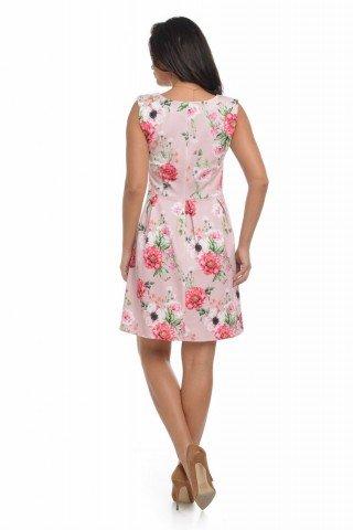 Rochie cu motive florale, Dress To Impress