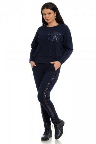 Pantaloni Eranthe cu vipusca paiete