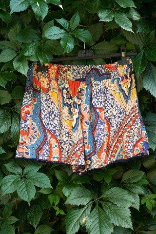 Pantaloni scurti multicolori Zina