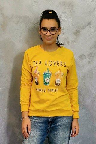 Hanorac imprimat Tea Lovers