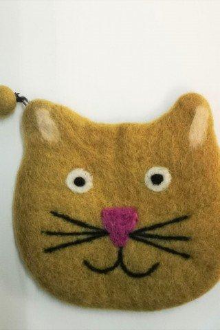 Portofel din fetru pisica Miau