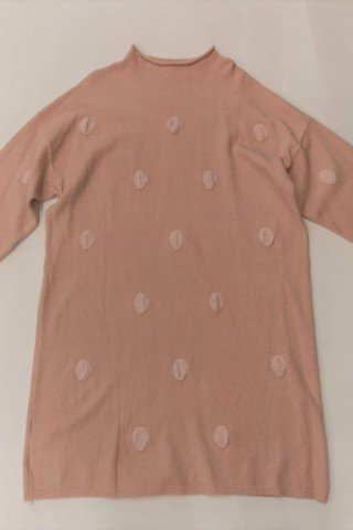 Rochie pulover cu buline