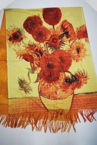 Esarfa Floarea Soarelui Van Gogh