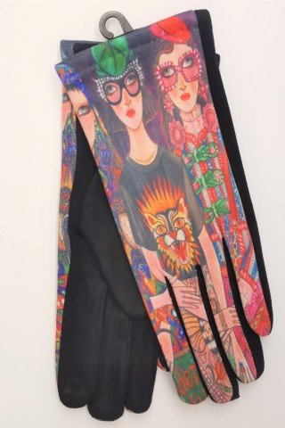 Manusi touch screen multicolore Fashion Look