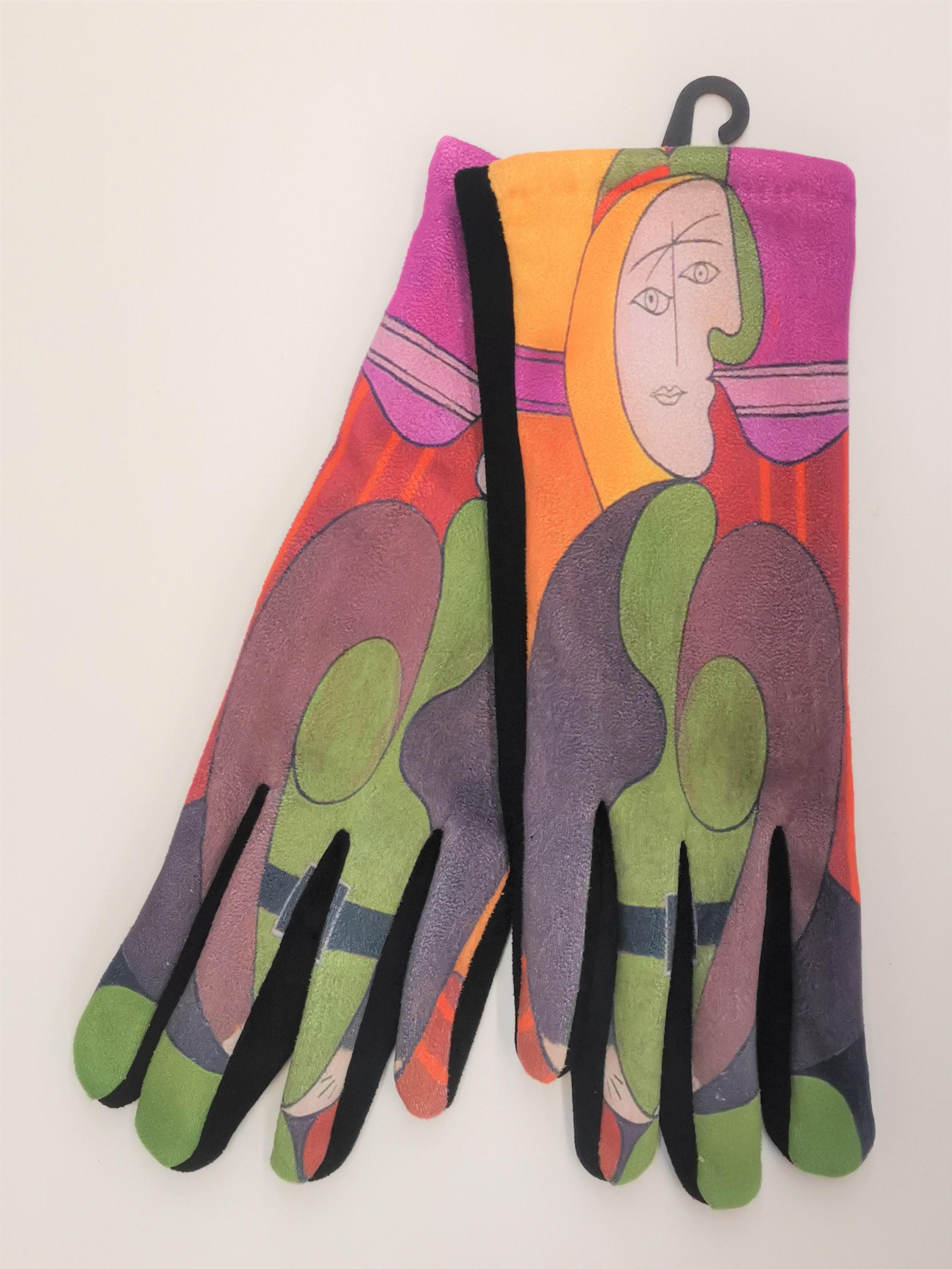 Manusi multicolore pastel touch screen