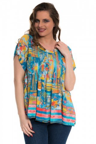 Bluza multicolora Happy Summer