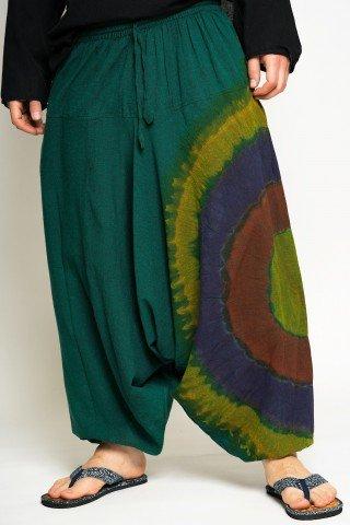 Salvari verzi cu cerc multicolor