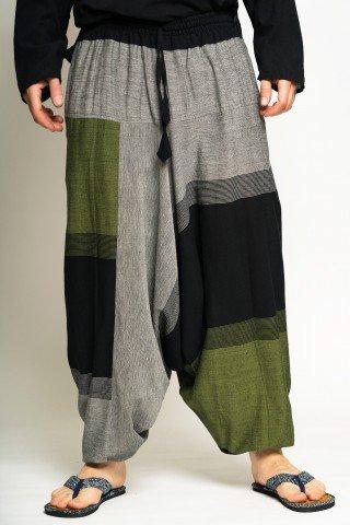 Salvari gri, verde, negru unisex
