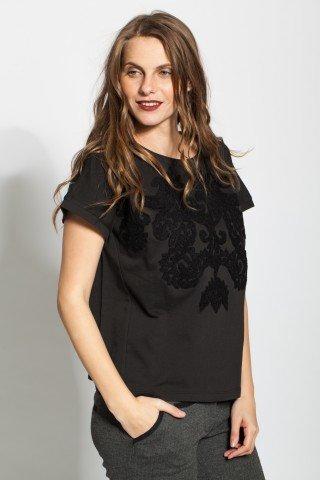 Bluza neagra Ania groasa