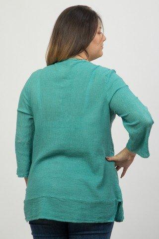 Bluza verde Bandolino brodata