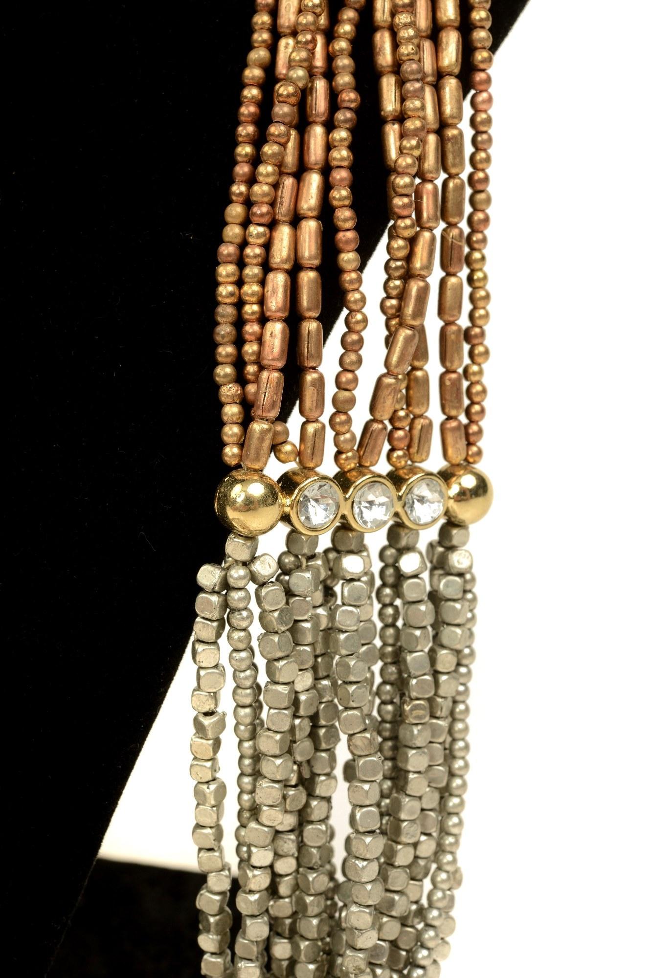 Colier auriu-argintiu Nela