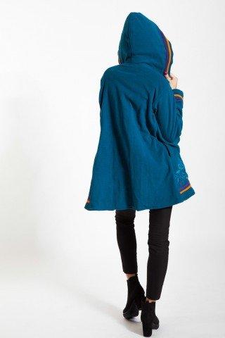 Jacheta albastra dublura polar