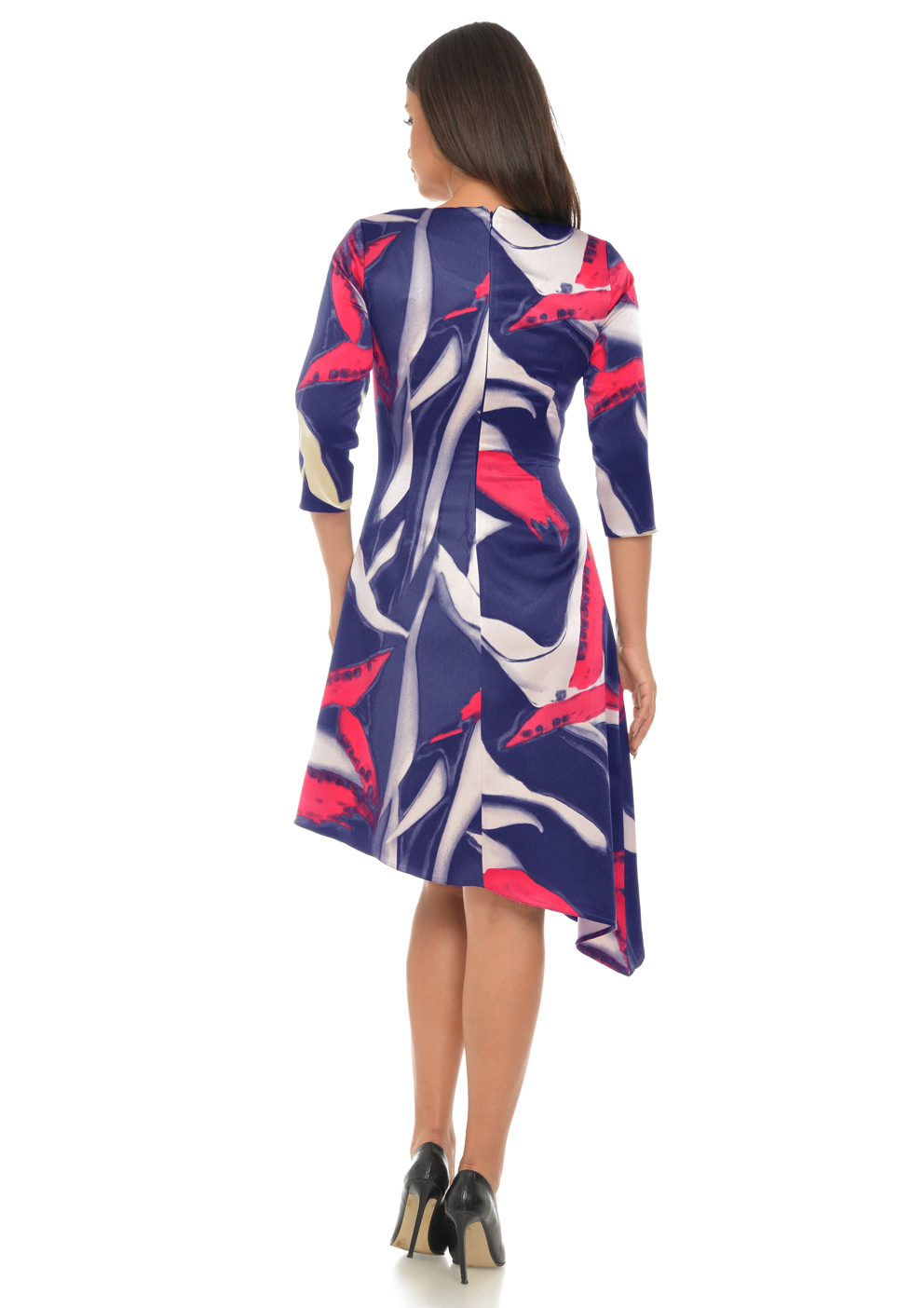 Rochie cu imprimeu abstract