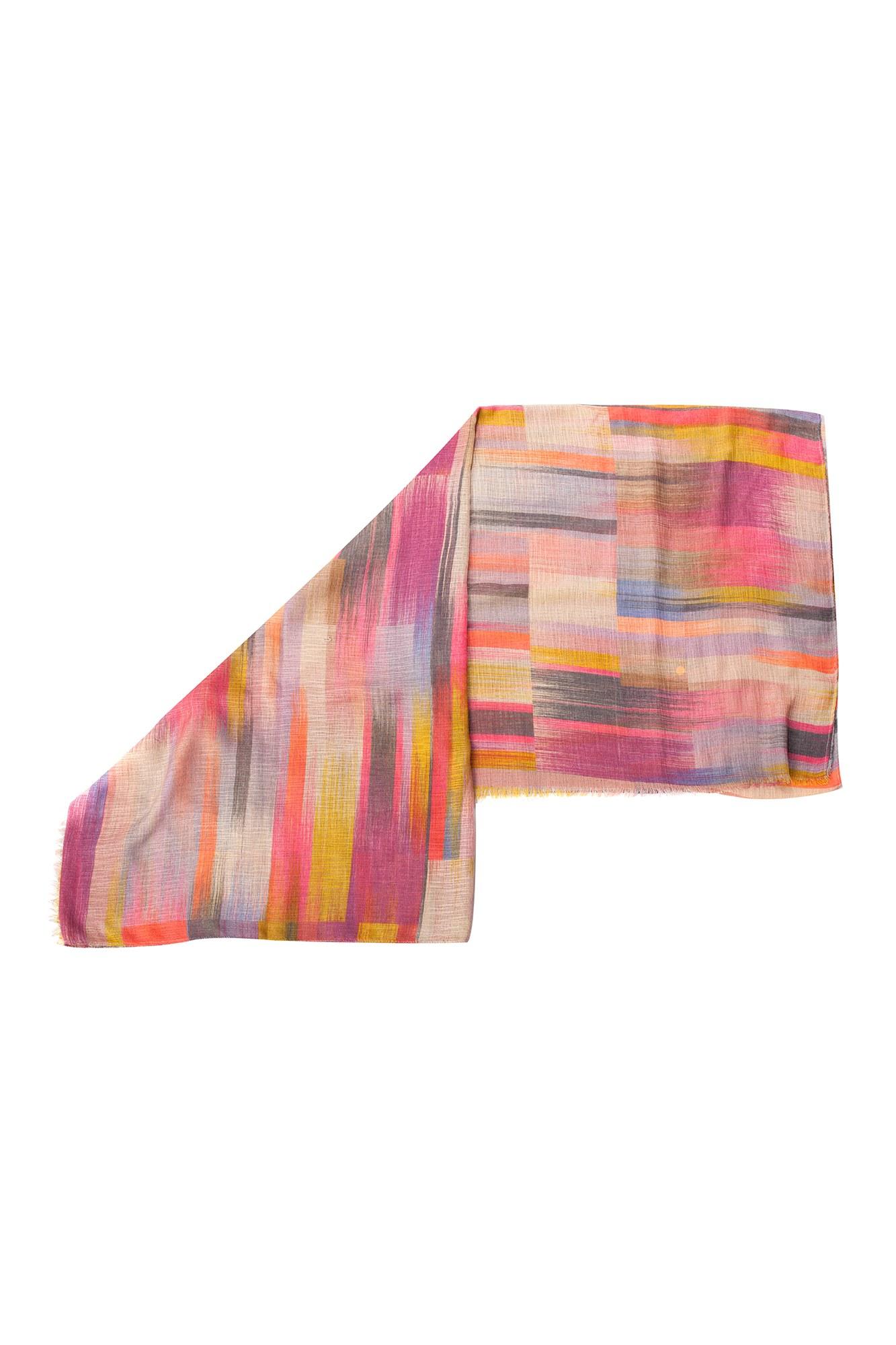 Esarfa multicolora abstracta