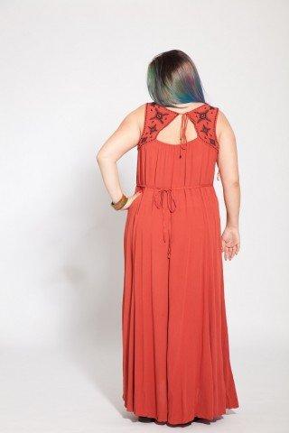 Rochie maro lunga vascoza