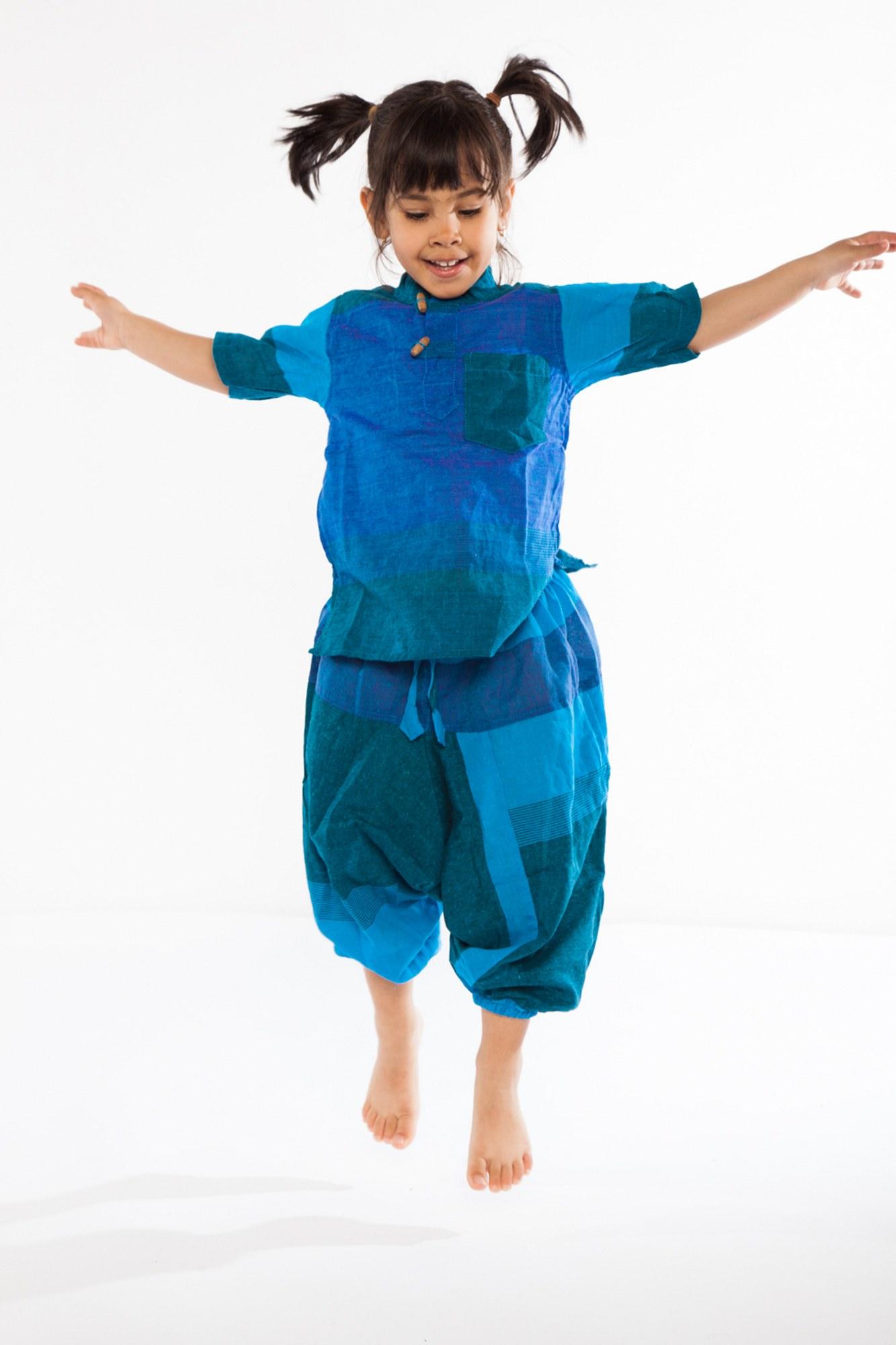 Salvari copii Dub albastri