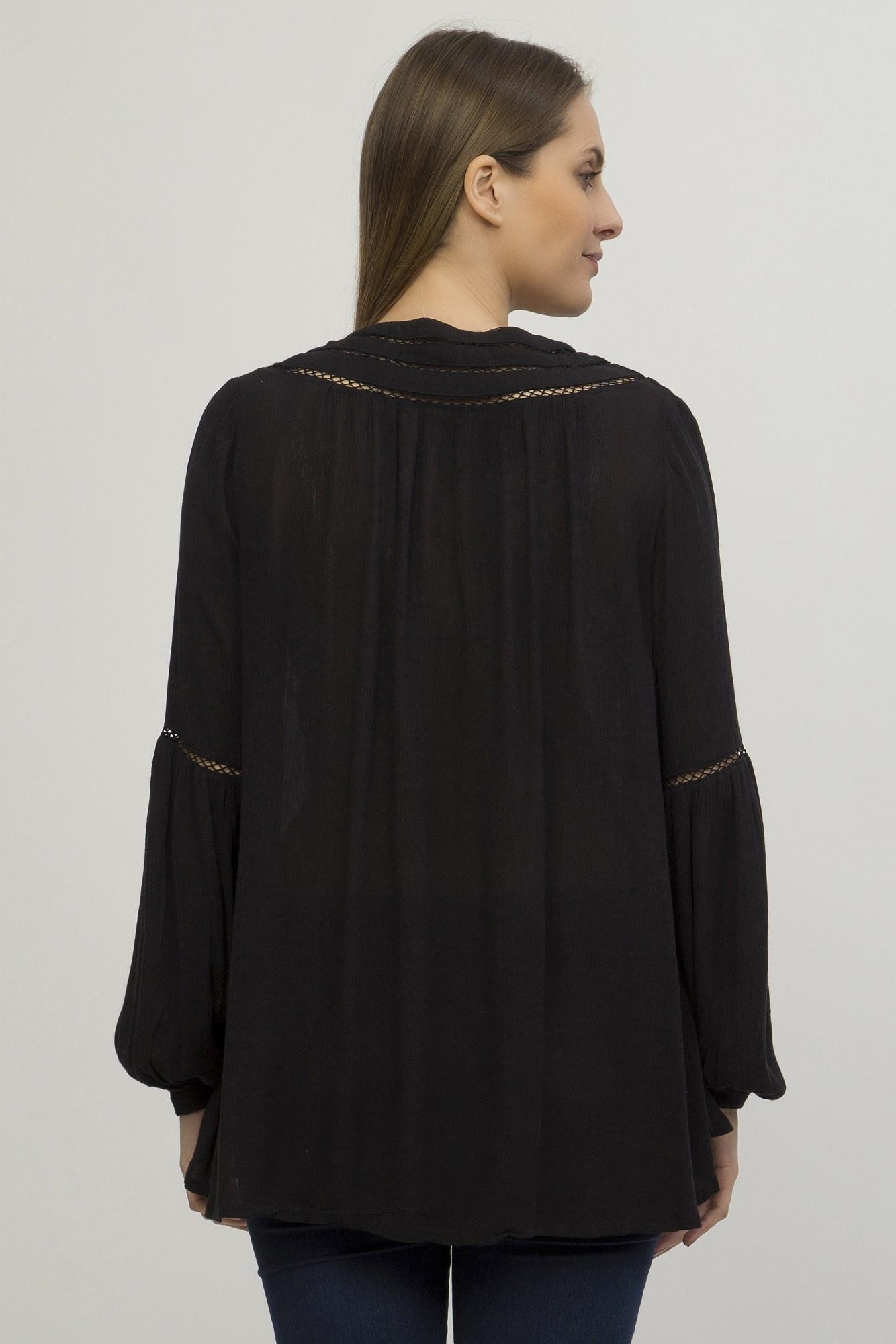 Bluza vascoza neagra Meduza