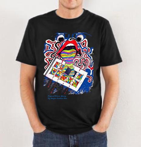 Tricou imprimeu color